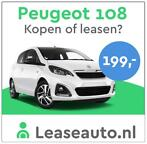 Peugeot 108 Private Lease Aanbieding