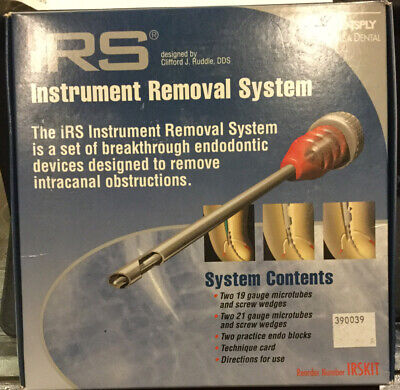 Dentsply Instrument Removal Kit - Irs - File Removal - Endo