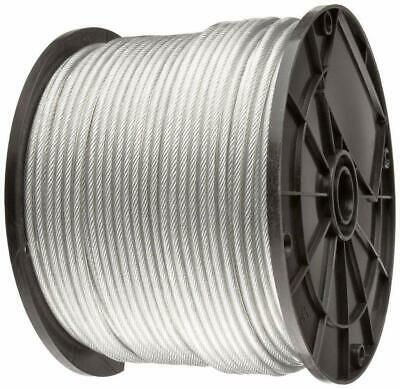 Vinyl Coated Stainless Steel 304 Cable Wire Rope 7x7 Clear 364 - 116