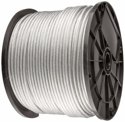 Vinyl Coated Wire Rope Cable 332 - 18 7x7 50100 250 500 And 1000 Ft