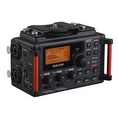 Tascam DR-60DMKII 4-Channel Portable Audio Recorder for DSLR