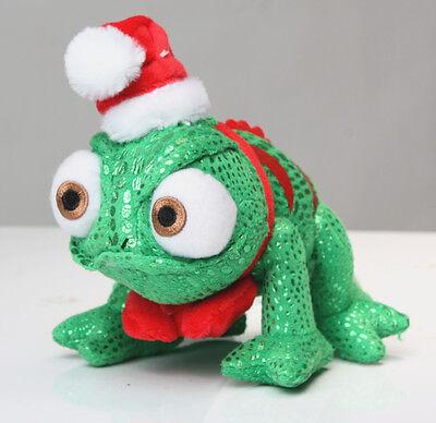 Disney Tangled Rapunzel Christmas Pascal Plush Toys Chameleon Xmas 8 inch Gift