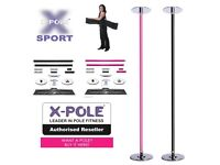 X POLE Sport in black 45mm