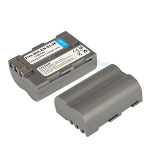 2 X New EN-EL3e ENEL3e Battery for Nikon D90 D80 D50 D70 D100 D200 D300 D700 UK