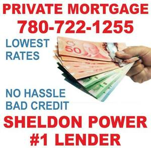 PRIVATE MORTGAGE LOANS FOR HOMEOWNERS - EASY APPROVAL - BAD Credit, Bankruptcy, NO HASSLE! #1 Lender IN MANITOBA