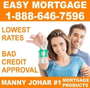 EMERGENCY MORTGAGE PRODUCTS FOR HOMEOWNERS - EASY APPROVAL - BAD Credit, Bankruptcy, NO HASSLE! #1 Broker IN ONTARIO!