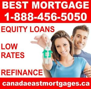 MORTGAGE LOANS FOR HOMEOWNERS - EASY APPROVAL - Credit Problems, NO HASSLE! #1 Broker IN NEW BRUNSWICK!