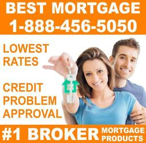 MORTGAGE PRODUCTS FOR HOMEOWNERS - EASY APPROVAL - Credit Problems, NO HASSLE! #1 Broker IN NEW BRUNSWICK!
