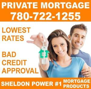 PRIVATE MORTGAGE PRODUCTS FOR HOMEOWNERS - EASY APPROVAL - BAD Credit, Bankruptcy, NO HASSLE! #1 Lender
