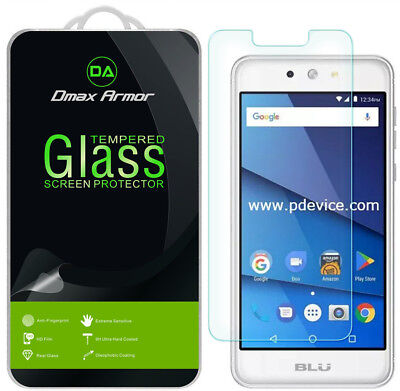 Deluxe Armor Pack - [2-Pack] Dmax Armor for BLU Grand M2 Tempered Glass Screen Protector