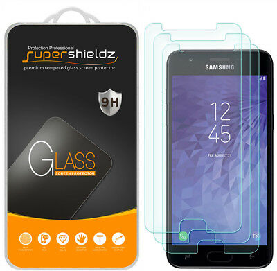 3rd Gen Screen Protector (3X Supershieldz Tempered Glass Screen Protector for Samsung Galaxy J3 V 3rd)