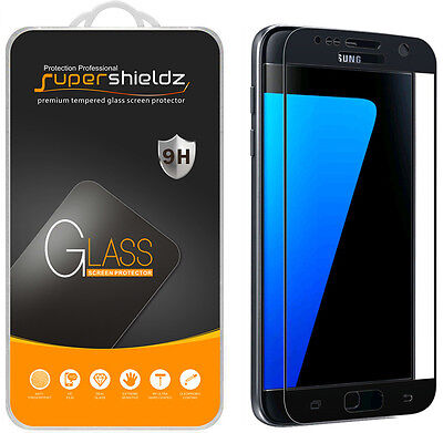 Supershieldz Samsung Galaxy S7 Preoccupied Coverage Tempered Glass Screen Protector