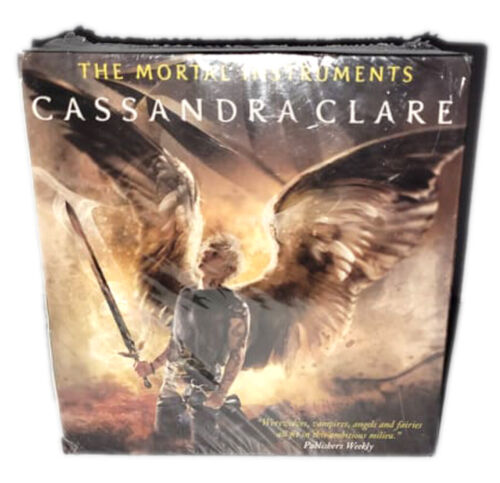 NEW The Mortal Instruments Slipcase by Cassandra Clare 6 Book Set * UK Edition