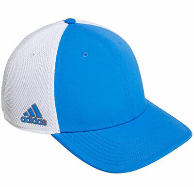 Adidas Cap Golf A Stretch Tour Flexi Fit DP1624 Ventilated Mesh Blue White New