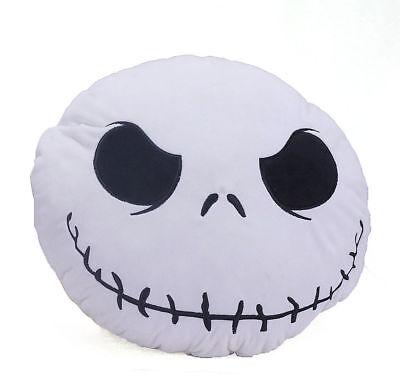 Nightmare Before Christmas Pillow (The Nightmare Before Christmas Jack Skellington Face Plush Figure Cushion)