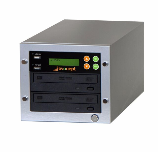 ($0 P&H) evocept CopyBlast Ultimate BD/DVD/CD Duplicator 1 Drive Tower& USB Copy