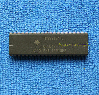 5pcs Tms9918anl Video Display Processor Ic Ti Dip-40