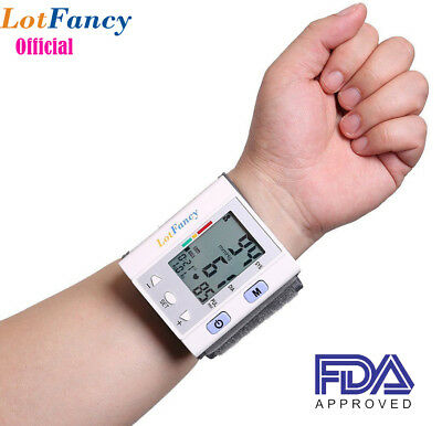 digital blood pressure monitor BP cuff machine gauge meter Pulse Monitor FDA