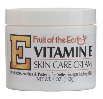 Fruit of the Earth Vitamin E Cream - 4 oz (113