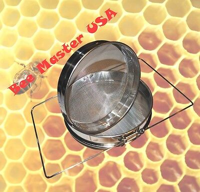 Pro's Choice Best   Double Sieve Stainless Steel  Honey Strainer,  Honey Filter.