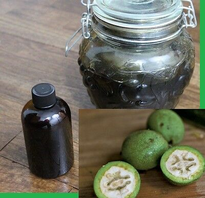 Herbal Parasite Cleanse -  Black Walnut Extract 4 oz Parasite Cleanse Green Tincture healing remedy Herbal