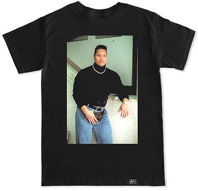 The Rock Tbt Wrestling Dwayne Johnson Cena Reigns Gym Funny Humor Flair T Shirt