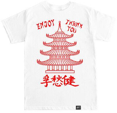 CHINESE TAKE OUT FUNNY HUMOR COSTUME CHINA FOOD EDM DJ RAP HIP HOP MEME T SHIRT](Rap Costume)