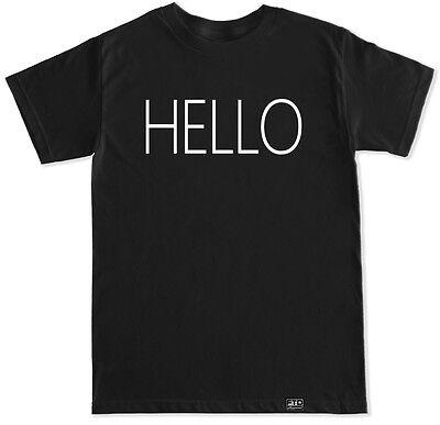Hello T Shirt Adele Pop Music Festival Concert Soul Song Singer Popular Britain
