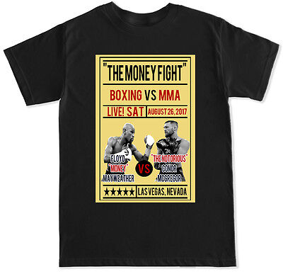Mcweather Poster Boxing Mcgregor Mayweather Retro Mma Sports Gym Fight T Shirt