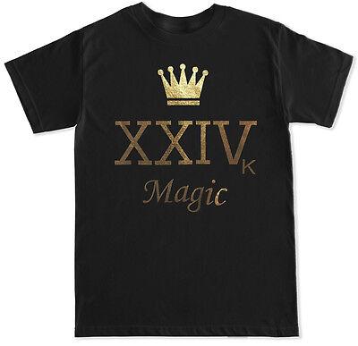 Crown Xxivk Magic Bruno Mars Las Vegas 24K Hip Hop Music Concert Shirt Tank Top