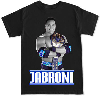Jabroni The Rock Tbt Pro Wrestling Dwayne Johnson Gym Funny Humor Flair T Shirt