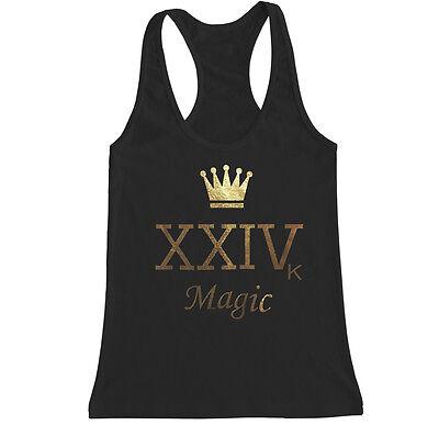 Crown Xxivk Magic Bruno Mars 24K Vegas Music Pop Concert Womens T Shirt Tank Top