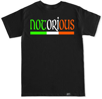 Notorious Mma Conor Mcgregor Ufc Ireland Irish Gym Workout Lift Fight T Shirt