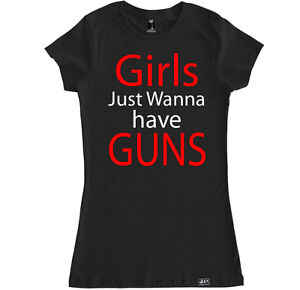 Girls just wanna have guns gym women t shirt workout mode for Funny crossfit t shirts