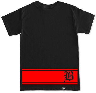 B Stripes Og Yg 400 La Blood Compton 4 Hunnid Westcoast Red Rap Hip Hop T Shirt