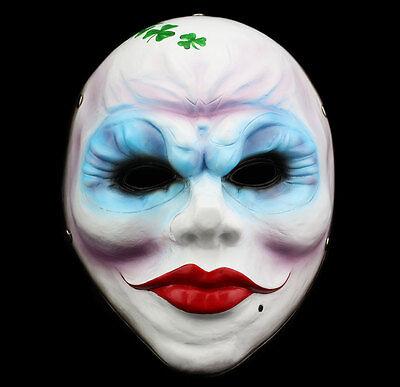 Payday 2 Bandidas Harz Maske Halloween Requisite Kostüm Party Cosplay (Payday 2 Kostüme)