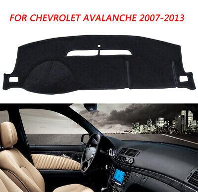 Dash Mat Cover for Chevrolet Tahoe/Suburban 07-12 / Silverado LTZ 07-13 Black