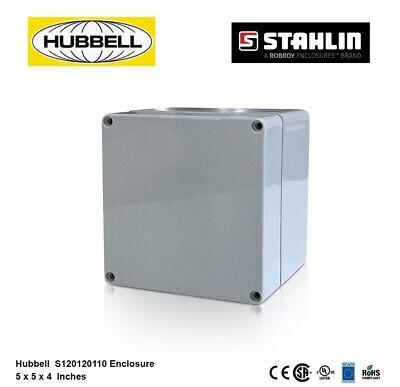 "Stahlin RJ1412HPL 14/""Hx12/""Wx8/""D Non-Metallic Enclosure Safety Hubbell 52XE60 NEW"