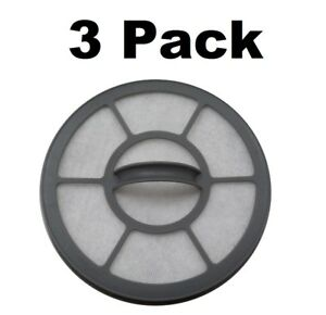 Exhaust Filter For Eureka AirSpeed EF 7 AS3001A AS3008A AS3011A AS3030A 3 Pack
