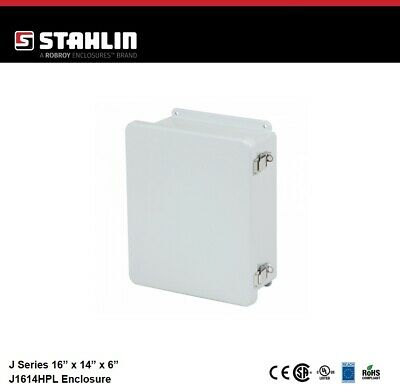 Stahlin J1614hpl Electrical Control Panel Enclosure Box 16x14x6 Fiberglass