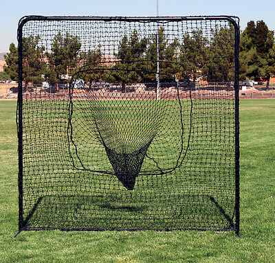 7'x7' Baseball Softball Sock Catch Net & Frame