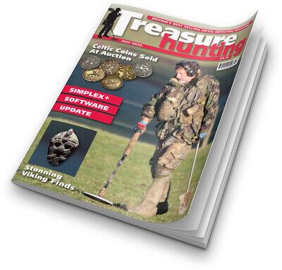 Treasure Hunting Magazine July 2020  **UK P&P FREE**