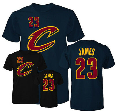 Cleveland Cavaliers Lebron James Jersey Mens T Shirt