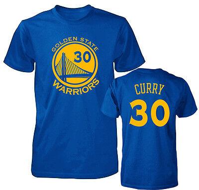 Golden State Warriors Stephen Curry Jersey Mens T Shirt