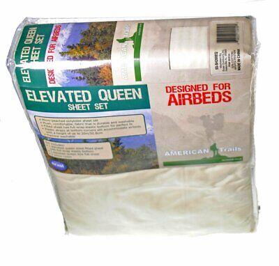 American Trails Air Mattress Elevated Queen Sheet 4 Piece Se