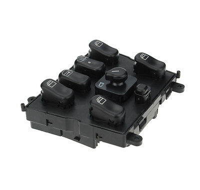 Master electric power window switch for mercedes benz w163 for 1999 mercedes ml320 window switch
