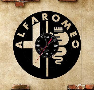 Orologio disco vinil clock disco in vinile alfa romeo