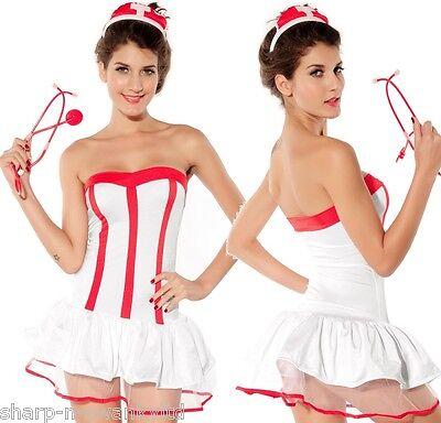 Damen Sexy Ungezogene Krankenschwester Arzt Halloween Schlafzimmer ()