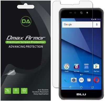 Deluxe Armor Pack - 6-Pack Dmax Armor HD Clear Screen Protector shield for BLU Grand XL LTE