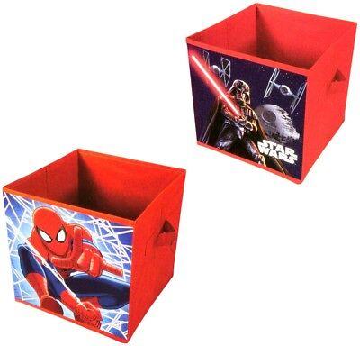 Star Wars Spiderman Kinder Aufbewahrungsbox klappbar Spielzeugkiste Faltbox Star Wars Kinder Spielzeug